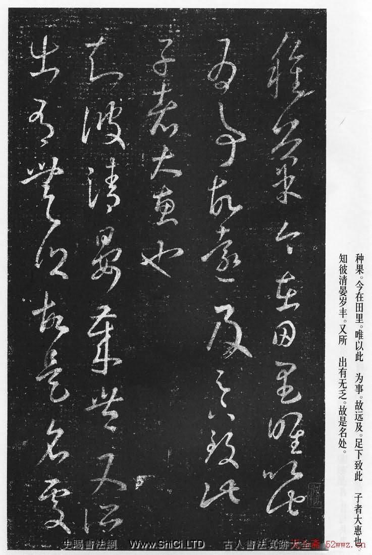 王羲之の草書の真書『十七書』(全部で28枚の写真)